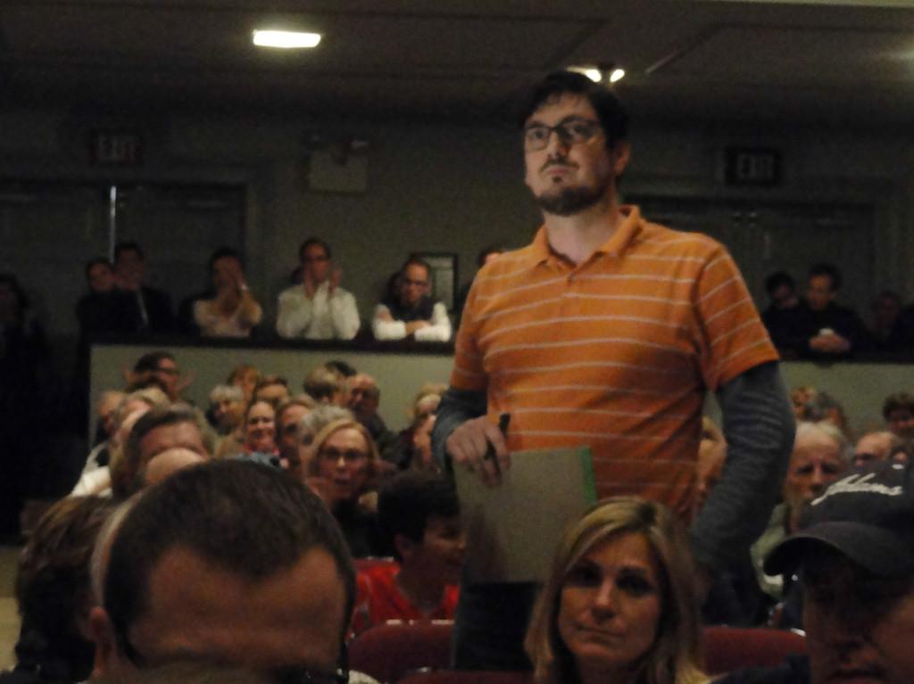 Haddonfield residents at the RCA presentation. Credit: Matt Skoufalos.