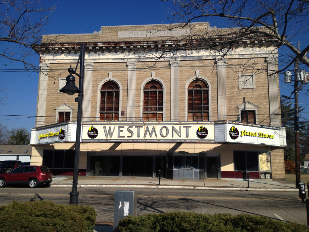Westmont marquee with Planet Fitness superimposed. Credit: Lazgor.