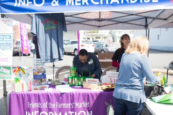 Collingswood Farmers Market volunteers.