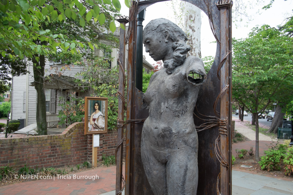 "Leighton, ""Portrait of a Roman Lady"" at Mechanic Street, Haddonfield. Credit: Tricia Burrough."
