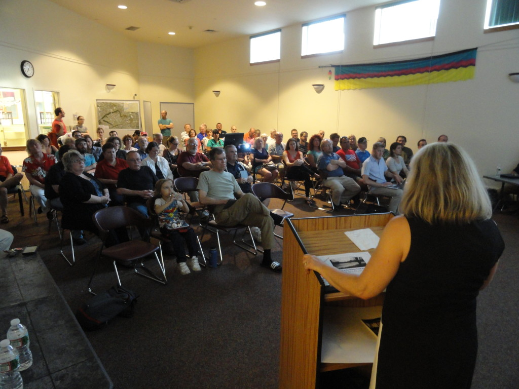 State of the watershed meeting in Haddon Twp. Credit: Matt Skoufalos.