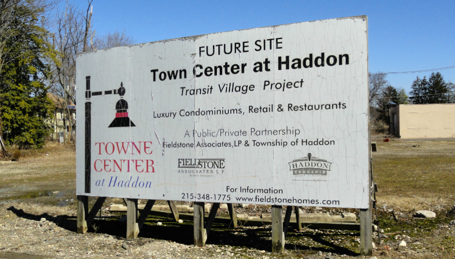 Haddon Towne Center. Credit: Matt Skoufalos.