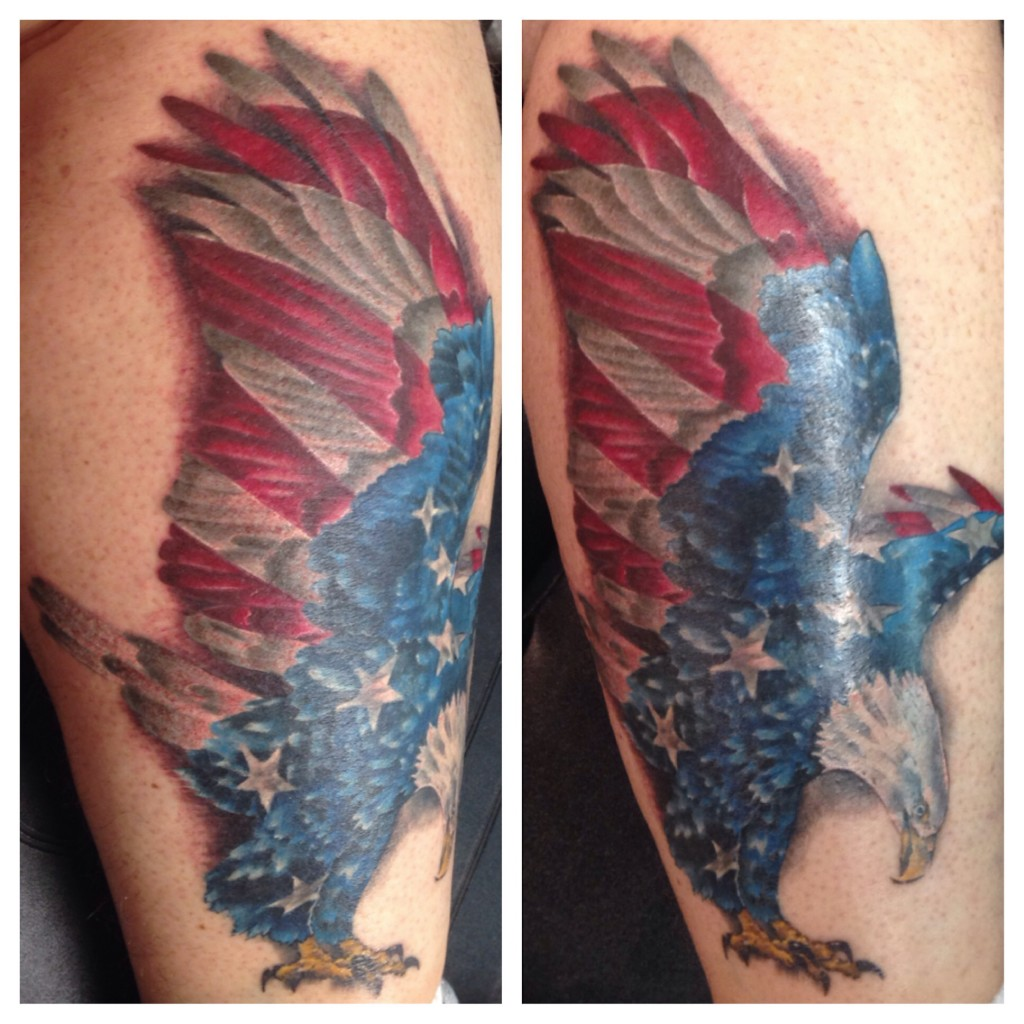 Miller's tattoo art. Credit: Jeff Miller.