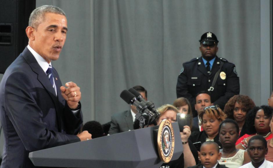 President Barack Obama. Credit: Matt Skoufalos.