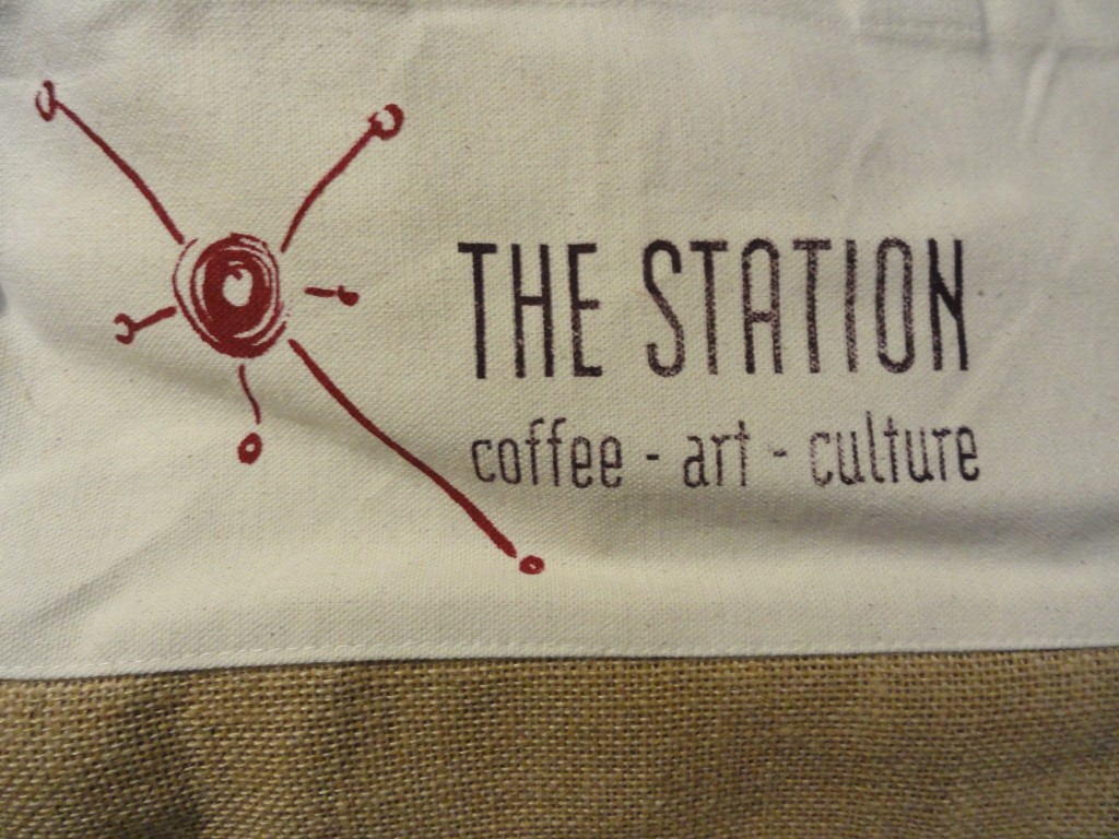 Station Cafe tote. Credit: Matt Skoufalos.