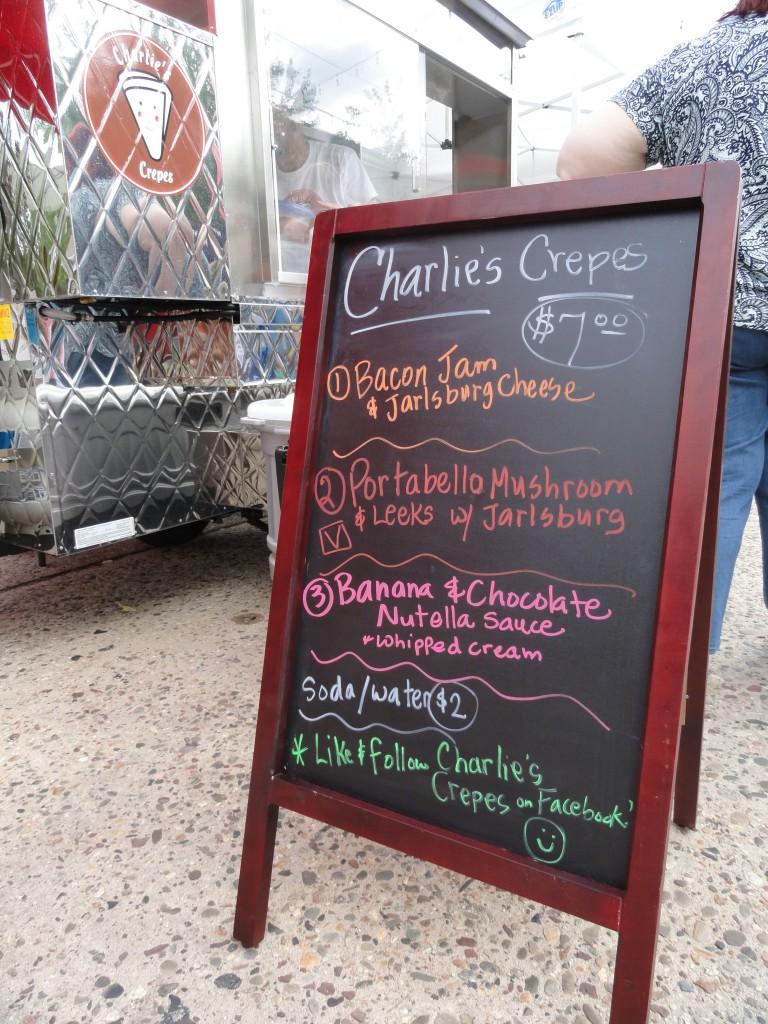 Charlie's Crepes. Credit: Matt Skoufalos.