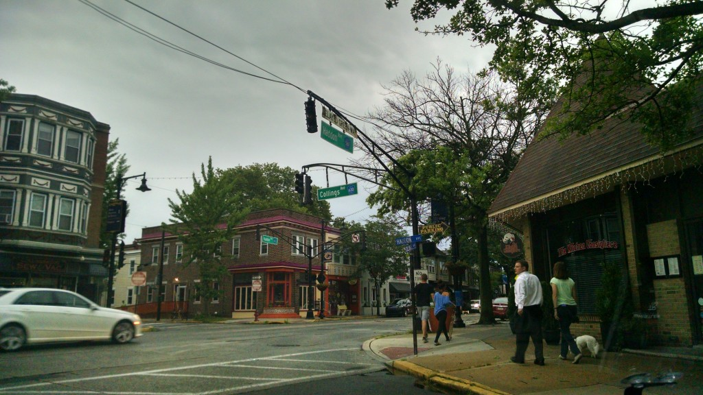 Power outage in Collingswood. Credit: Matt Skoufalos.