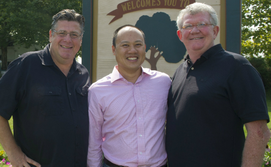 Tony Clark, Kevin Lau, Kevin Meeker. Credit: Camden County.