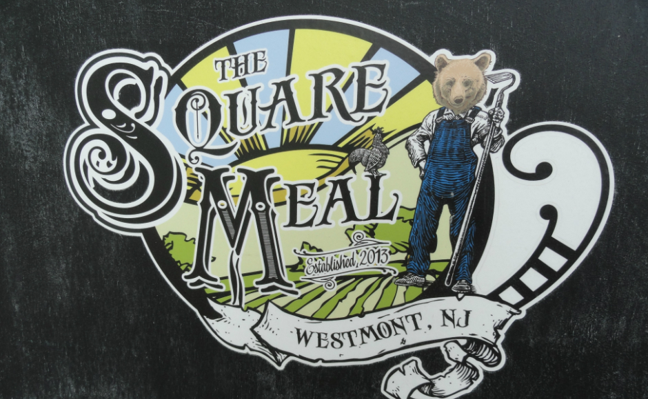Square Meal logo. Credit: Matt Skoufalos.