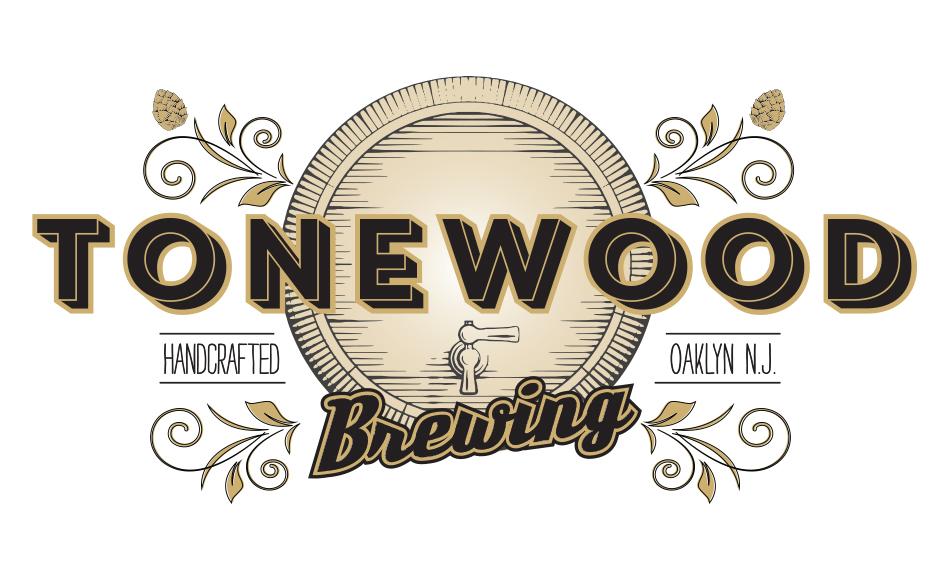 Tonewood Brewing Logo. Credit: Scarlet Rowe Image & Design.