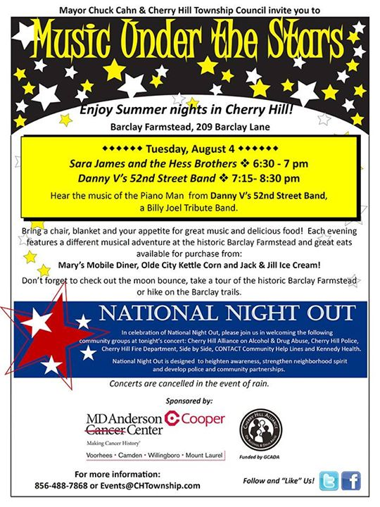 Cherry Hill NNO poster