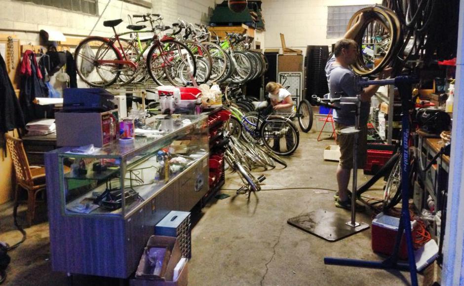Collingswood Bike Share. Credit: Joe Bonaparte.
