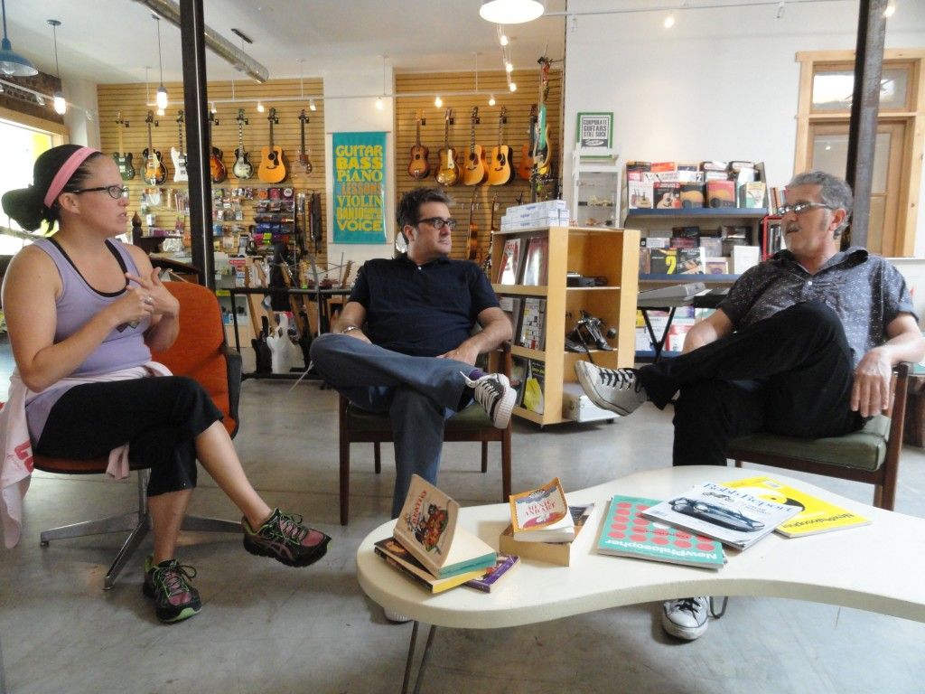 (From left) O'Brien, Velykis, Monko. Credit: Matt Skoufalos.