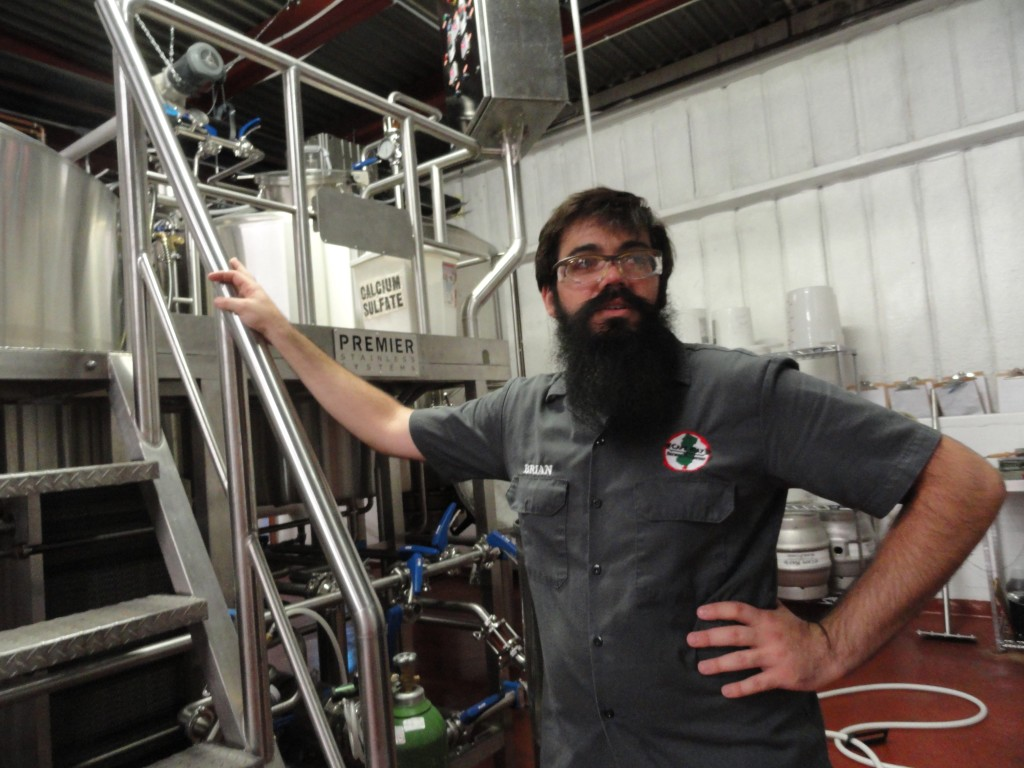 Cape May Brewer Ryan Hink. Credit: Matt Skoufalos.