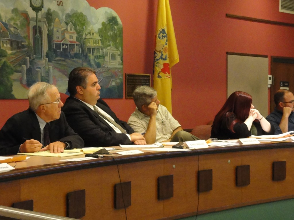 2015 Haddon Heights Planning Board. Credit: Matt Skoufalos.