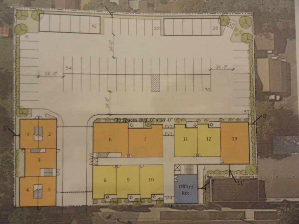 Layout for Atlantic Ave apartments. Credit: Buckingham.