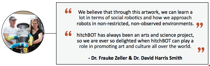 hitchBOT quotes. Credit: hitchBOT.