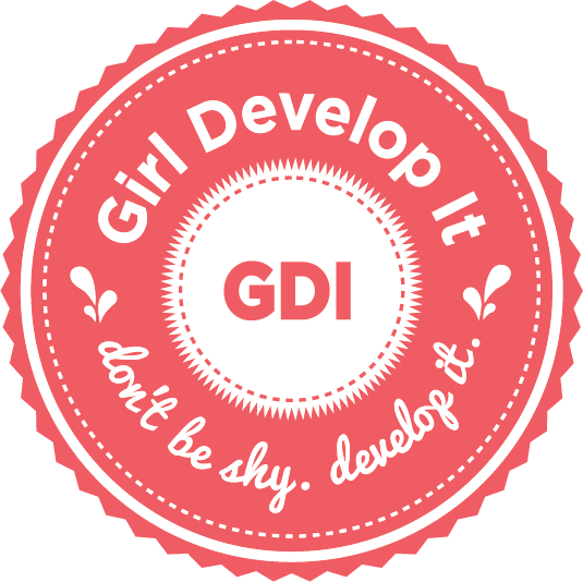 Girl Develop It Logo. Credit: Girl Develop It.