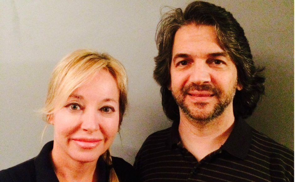 Kathy Ganser-Abate and Anthony Abate. Credit: Anthony Abate.