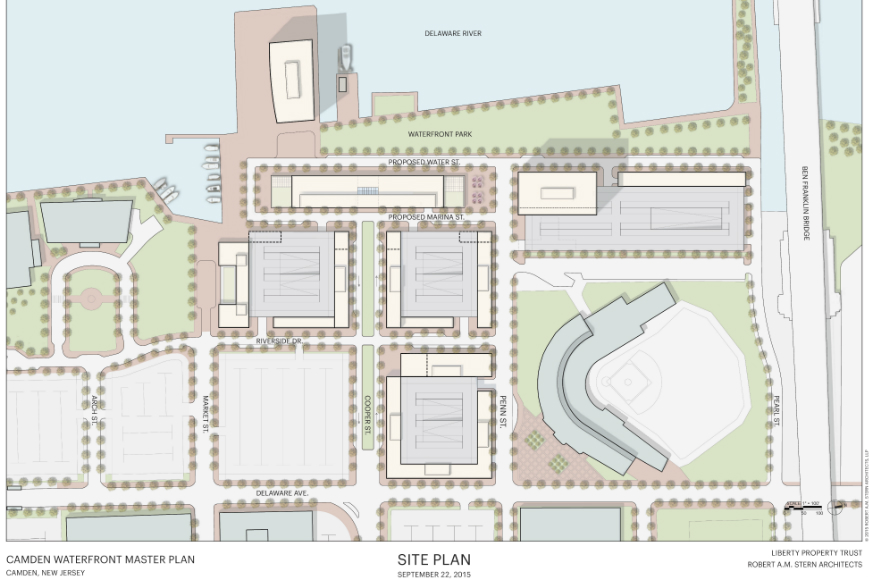 Camden Redevelopment Site Plan