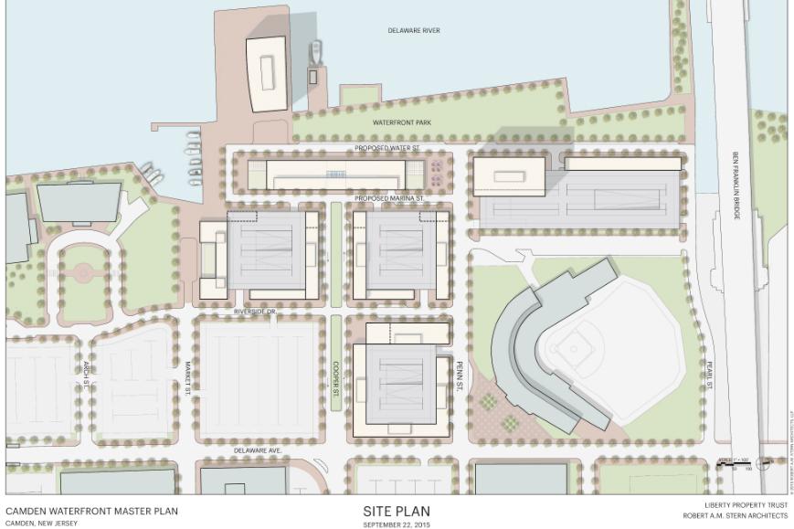 Redevelopment site plan. Credit: RAMSA.