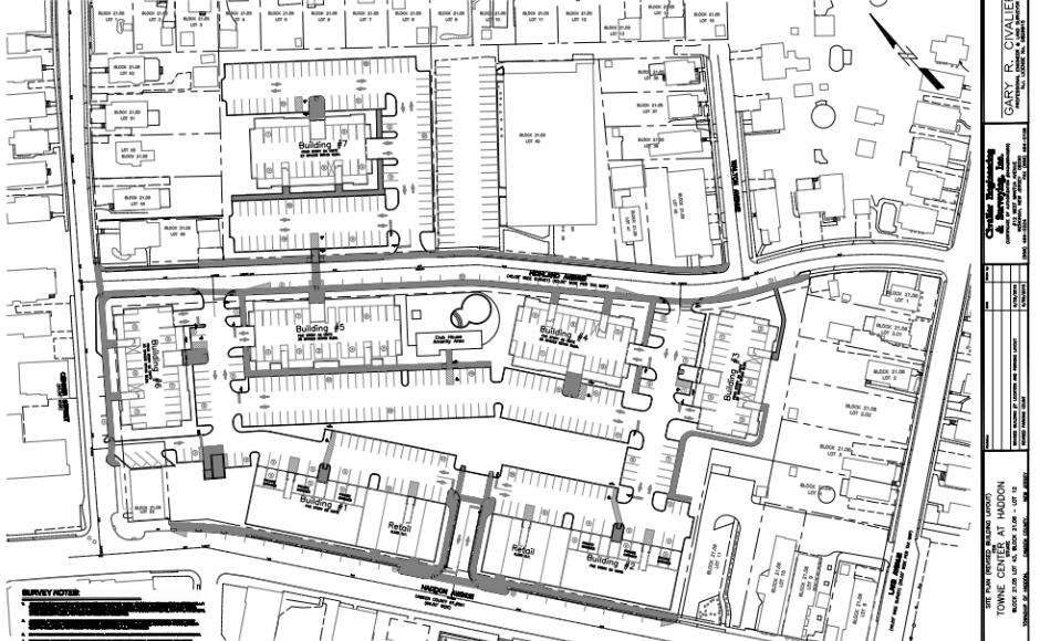 Dy-Dee Site Plan. Credit: Haddon Twp.