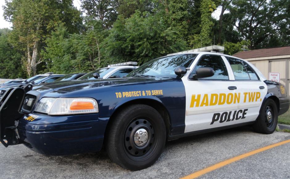 Haddon Twp Police Car. Credit: Matt Skoufalos.