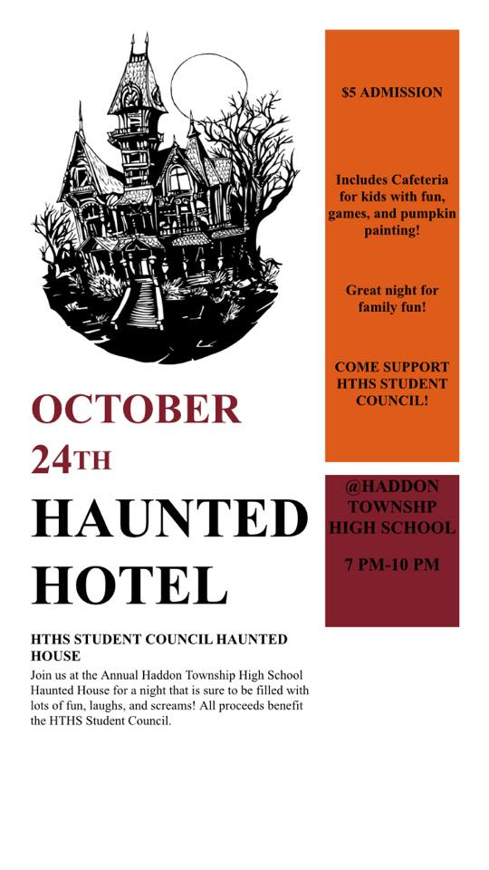 Haddon Twp Haunted Hotel