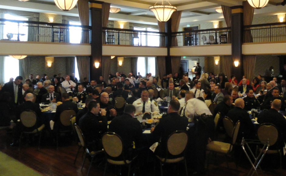 Police Recognition Luncheon. Credit: Matt Skoufalos.