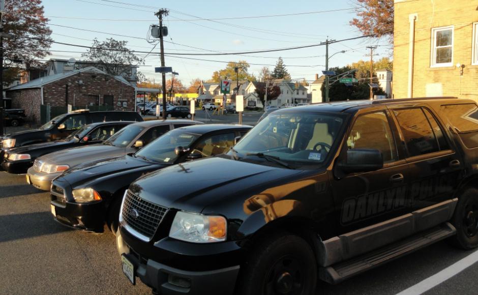 Police Parking Lot