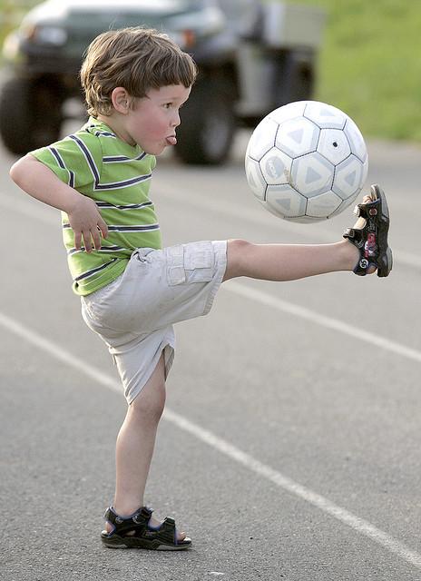 Soccer dude. Credit: Brittany Randolph - https://goo.gl/aQcSFF