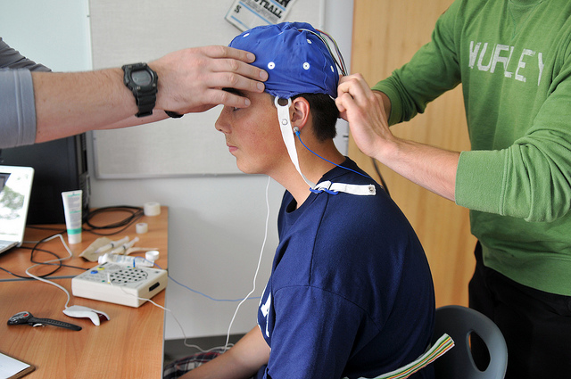 Concussion study. Credit: University of the Frazer Valley -