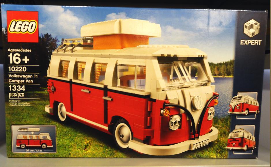 LEGO VW Van. Credit: Matt Skoufalos.