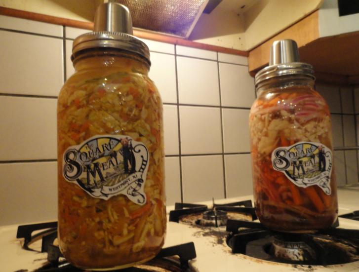 Square Meal Sauerkraut. Credit: Matt Skoufalos.