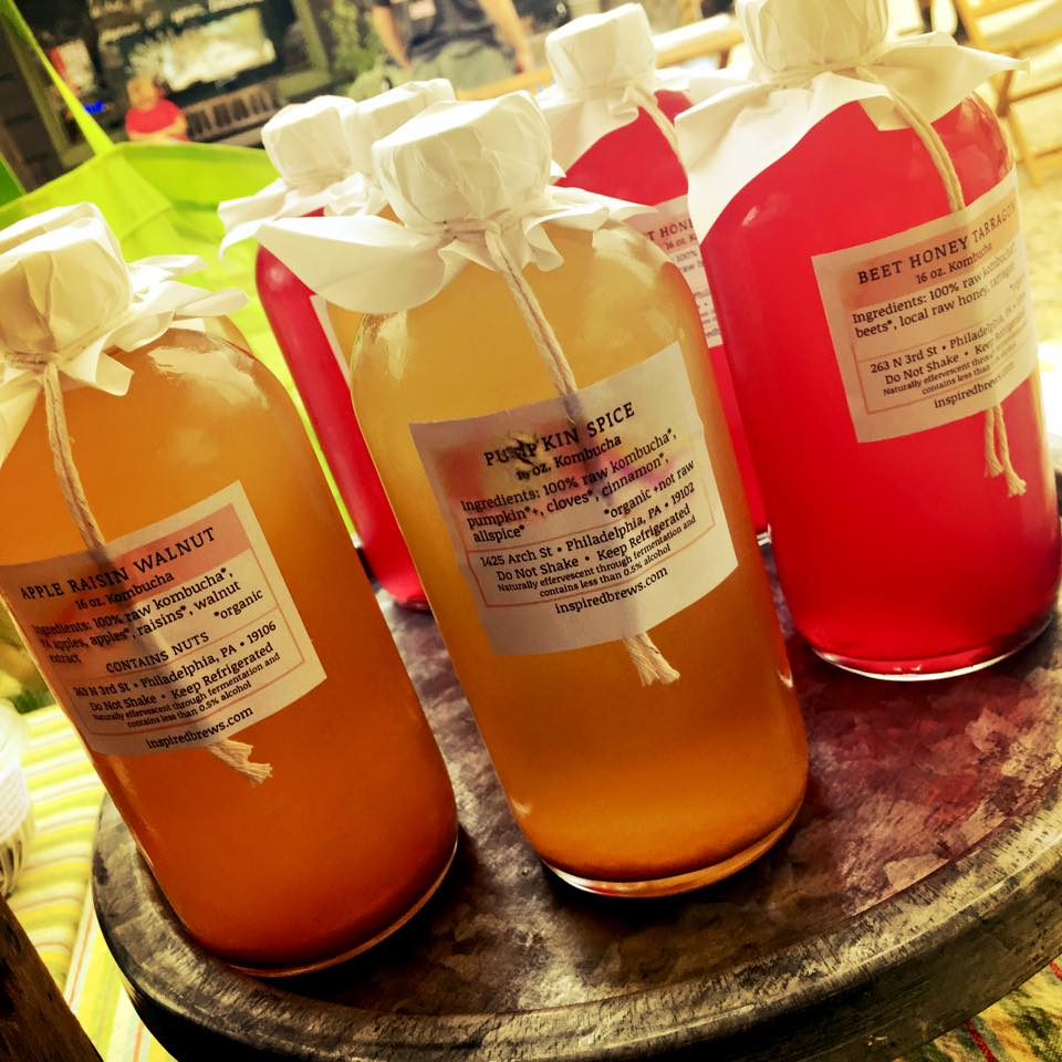 Inspired Brews Kombucha. Credit: Heart Beet.