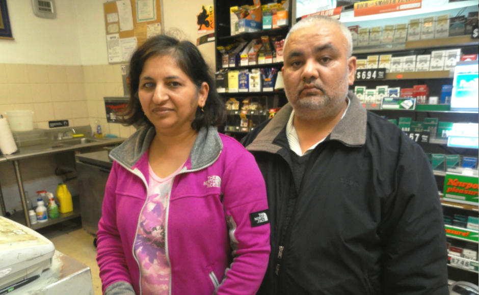 Seema and Pal Singh. Credit: Matt Skoufalos.