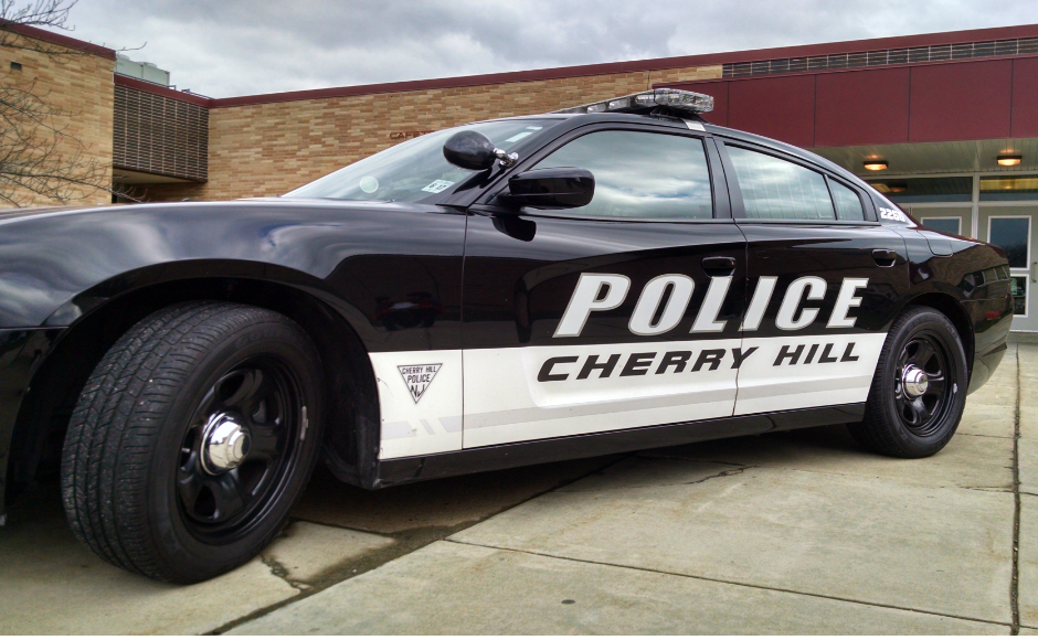 Cherry Hill police cruiser. Credit: Matt Skoufalos.