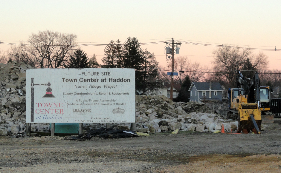 Haddon Town Center. Credit: Matt Skoufalos.