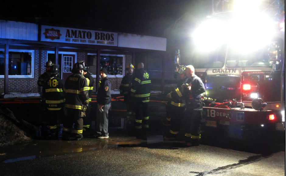 Amato Bros. Fire. Credit: Matt Skoufalos.