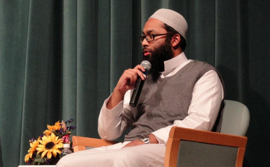 Imam Mufti Niaz Hannan. Credit: Matt Skoufalos.