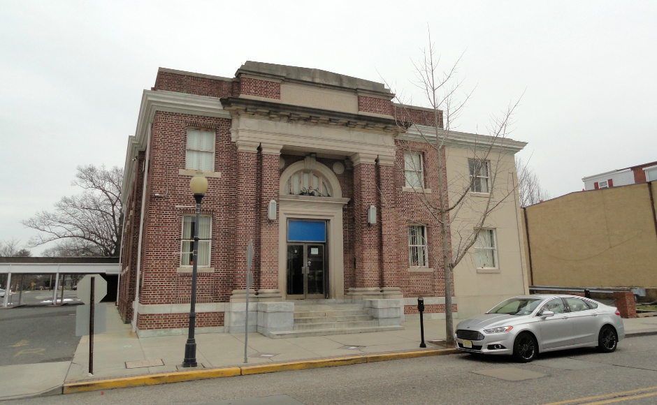 The former PNC Bank Merchantville could be a challenge to redevelop, Mayor Ted Brennan said. Credit: Matt Skoufalos.