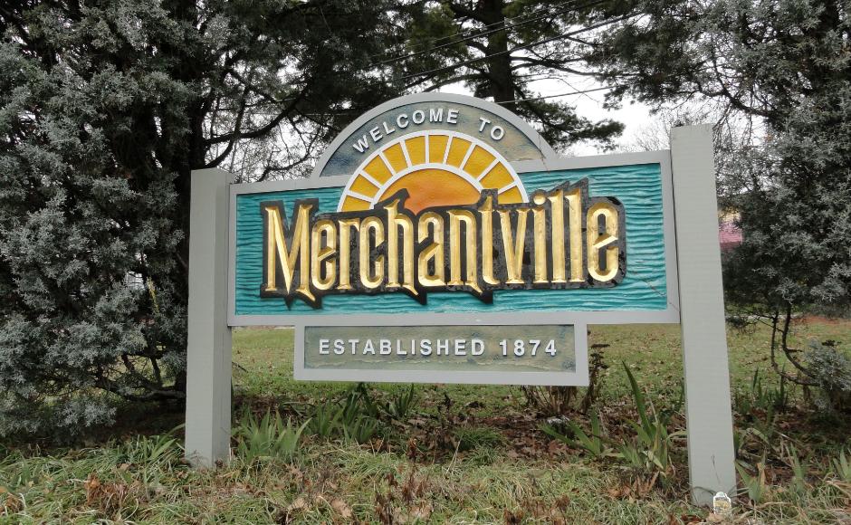 Welcome to Merchantville. Credit: Matt Skoufalos.