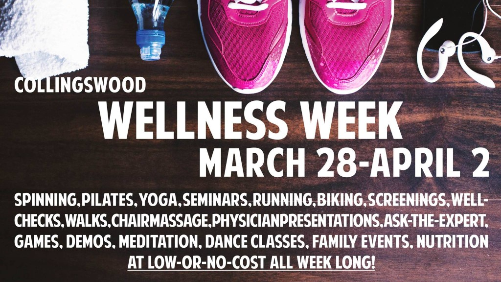 Collingswood Wellness Week. Credit: Borough of Collingswood.
