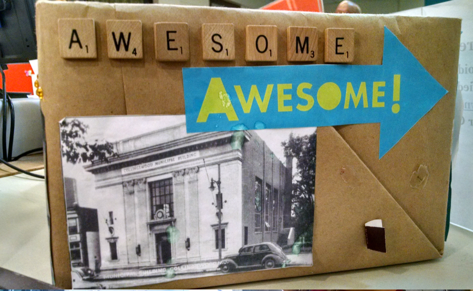 The Collingswood Public Library Awesome Box, which Schanely established. Credit: Matt Skoufalos.