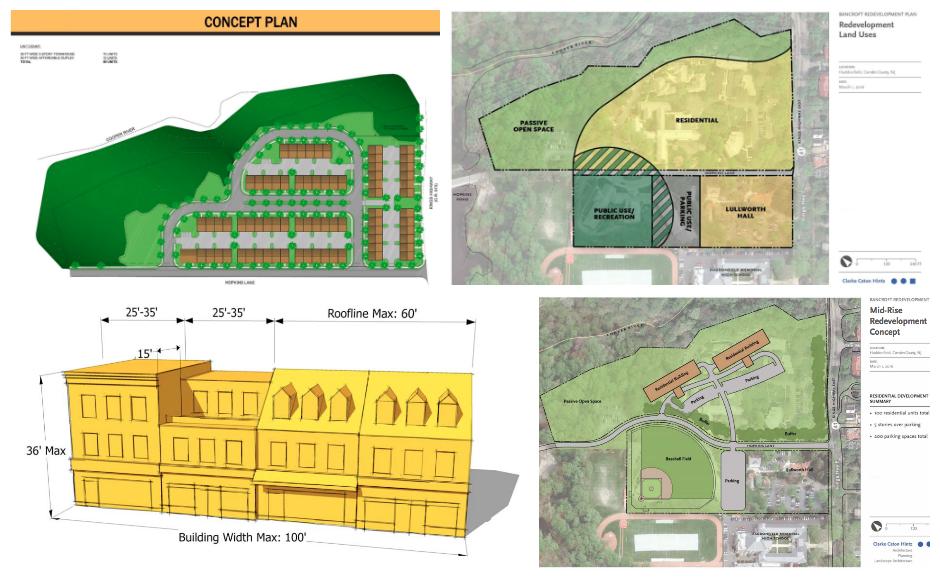 Bancroft Redevelopment Plan. Credit: Clarke Caton Hintz.