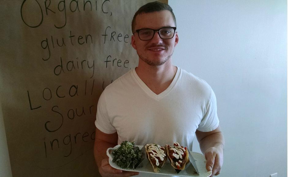 Heart Beet Chef Patrick Nolan. Credit: Matt Skoufalos.