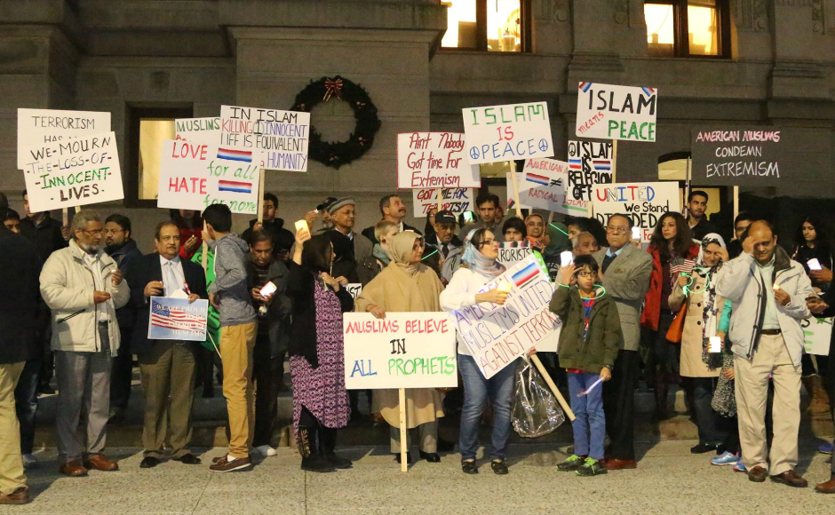 A peace rally hosted by the Pakistan American Society of South Jersey. Credit: Owais and Mona Lari.