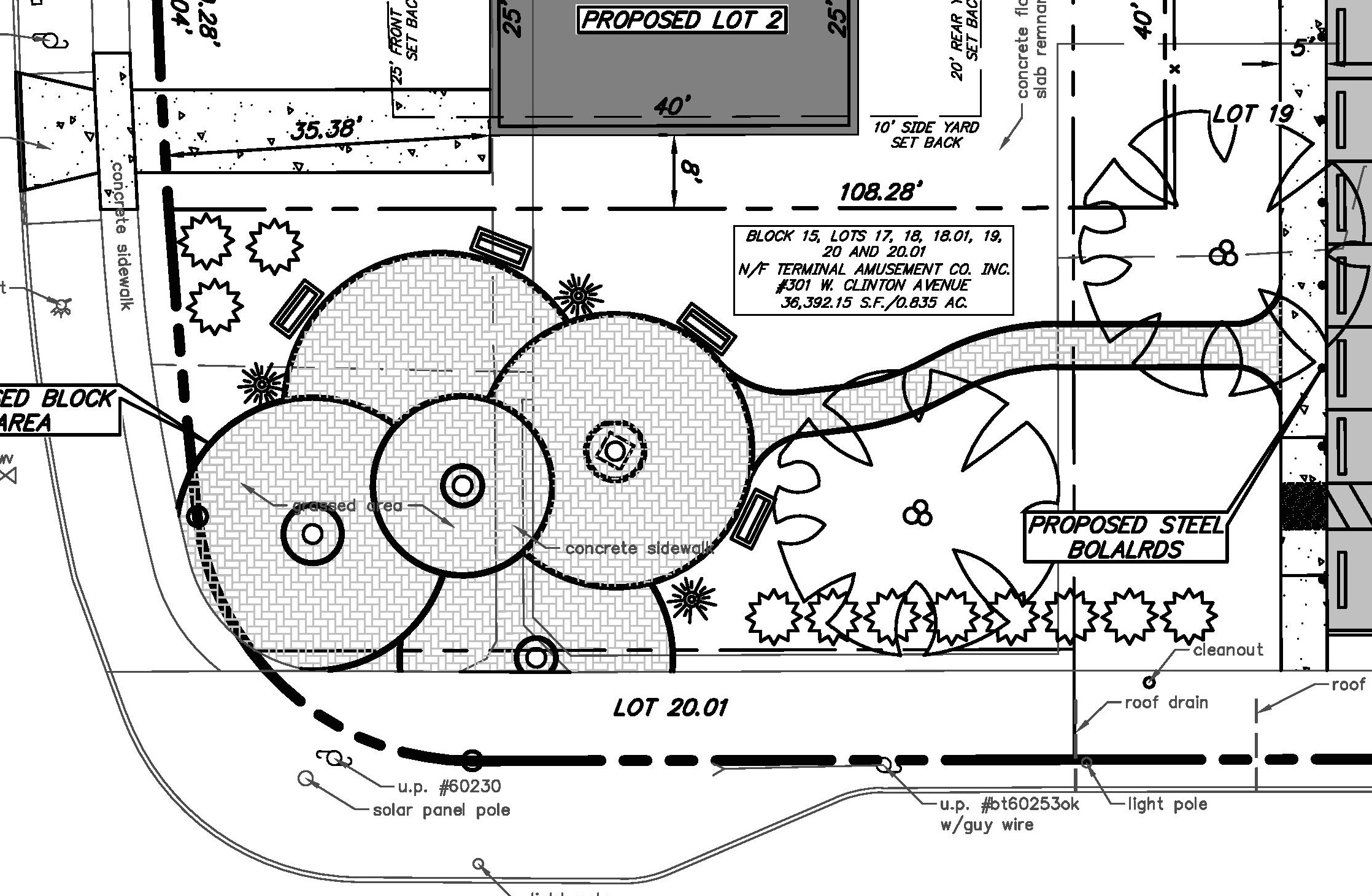 Oaklyn To Redevelop Public Lot Support Biz District Wiring Diagram For Bac Pocket Park Detail Credit Borough Of
