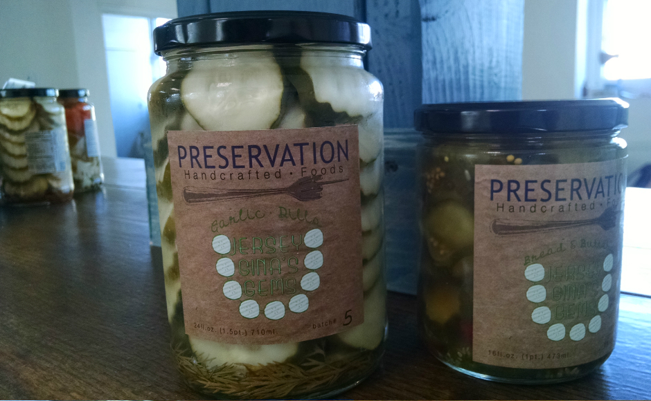 Preservation pickles. Credit: Matt Skoufalos.