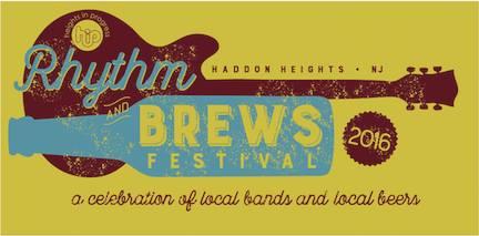 Rhythm and Brews Logo. Credit: John Falco.